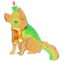Candle Canine Adopt : Fall Leaves Auction OPEN by SquidPup