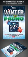 Winter Promo Flyer / Magazine AD by graphicstock