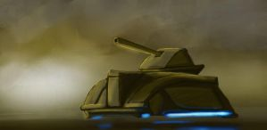 Hover Tank by HawkWinds