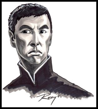 Donnie Yen by Drawingremy