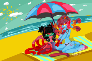 Summertime by athe-nya