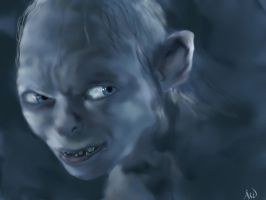 Gollum version 2 by Everild-Wolfden