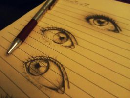 Eye  Sketch I by nadzie