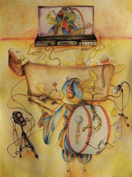 One man band by reamream
