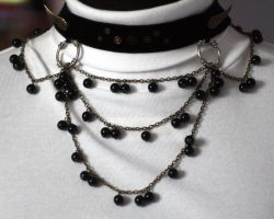 Chained choker by Gothic-Enchantress