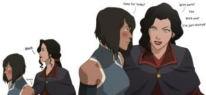 Korrasami - Back from Work by MattHunX