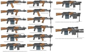 rifts AK series daul barrel weapon systems by unspacy