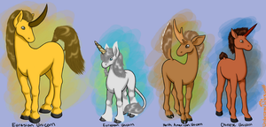 A Natural History of Unicorns by nothere3