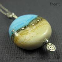 Constantine Bay pendant by janehamill