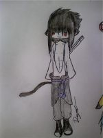 Older Sasuke Kitty by KonekoKaulitz