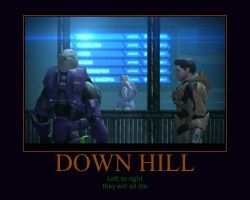 Down Hill Red vs Blue by Overlordflinx