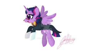 Twilight Sparkle DHMiS by KhyberFanGirl101