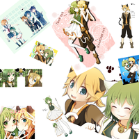.:Len and Gumi - Tribute:. by JuLyGoOd