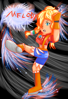 FC - Melody Fighting by lightvanille