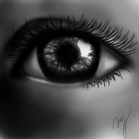 Realistic eye by mG4ya