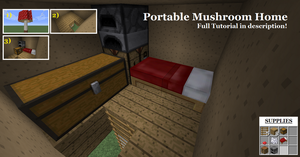 Tutorials! Number One: Portable Mushroom Home! by Cheesedoctor22
