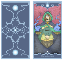 AE- Tarot card by Little-Noko