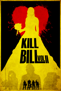 Kill Bill Vol. 2 - Alt. Minimalist Poster by edwardjmoran