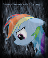 ...let it rain. by PraiseCastiel
