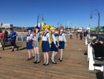 Girls at the Pier by Mikey186