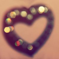 Bokeh Heart by asphyxiate-Stock