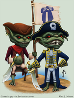 Goblin Pirates by Canada-Guy-Eh