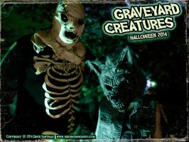GRAVEYARD CREATURES 2 by Hartman by sideshowmonkey