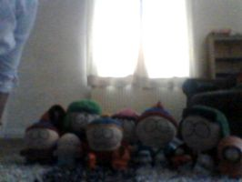 my south park colection by pokemonlover112