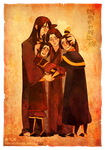 Family hugging by freestarisis