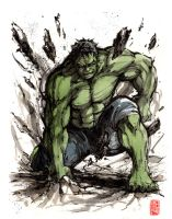 Hulk Sumi by MyCKs
