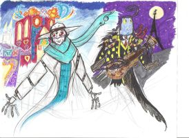 AMIP Book of Life Crossover by Scared2dream