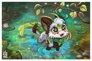 Pond by griffsnuff