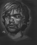 Peter Dinklage Portrait Study by TokenJin