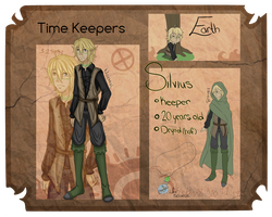 .:Time Keepers Application:. Silvius by TheLostArts