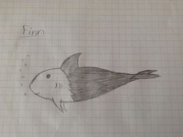 Adoptable Shark Drawing by Enderflame62