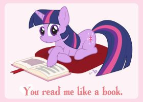 Valentine's is Magic: Twilight Sparkle by dm29