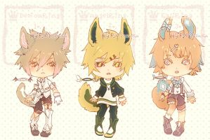 Auction : Ringling Species Set 4 [CLOSED] by HyRei
