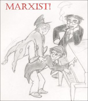 Marxist by vaudeville-comedy