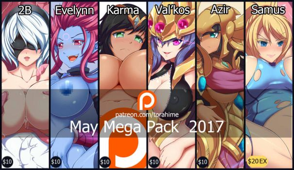 May reward mega pack 2017 by TorahimeMax
