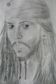 Jack Sparrow by MBdrawings
