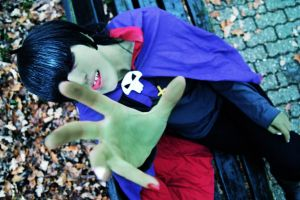 GoRiLLaZ Cosplay Grab you 2D by Murdoc-lein