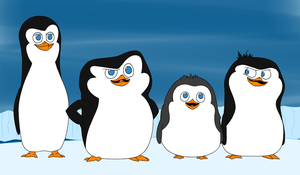 Baby Penguins by Anna-Autobot12
