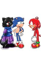 AT Fun with Knuckles by ViralJP