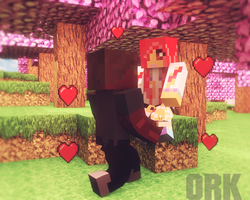 Minecraft Marrige by Ork24