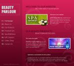 Beauty Parlour Template by apokalypseAT