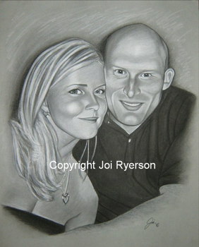 Lanne and Brad by joirye