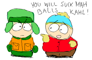 cartman and kyle :D by Eric--Cartman