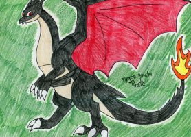 Shiny Mega Charizard Y by FlygonPirate