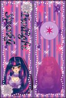 [Bookmark]Twilight Sparkle by StrawberryCakeBunny