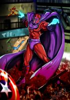 Magneto not a Hero by Madboy-Art